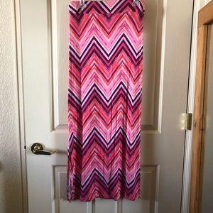 Pink a.n.a maxi skirt